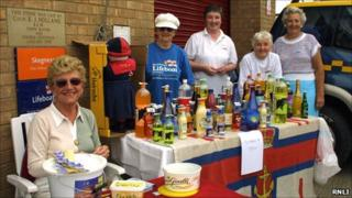 Fundraising for the RNLI