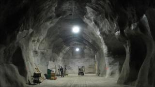 Snolab excavation (SNOLAB)