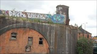 Ste of the former Bowstring Bridge