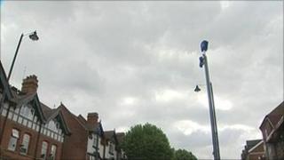CCTV cameras in Birmingham