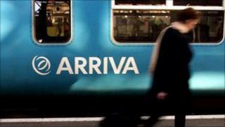 An Arriva train