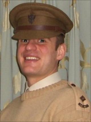 Lt John Charles Sanderson.