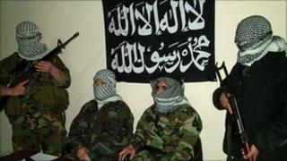 Fatah al-Islam militants in 2007