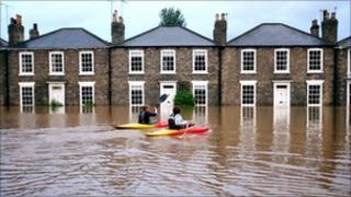 Flooding in Beverley