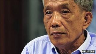 Kaing Guek Eav hears his sentence 26.7.10