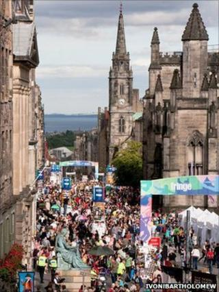 More people than ever bought tickets for Edinburgh Fringe shows