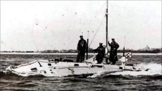 Holland One submarine