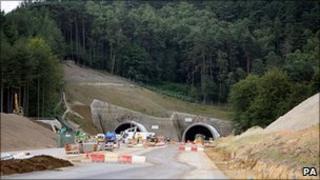 Hindhead tunnel