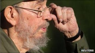 Fidel Castro in Havana on 3 September, 2010