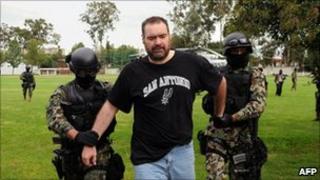 Sergio Villarreal under detention