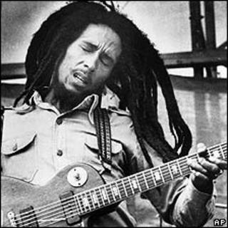 Bob Marley, pictured in 1979