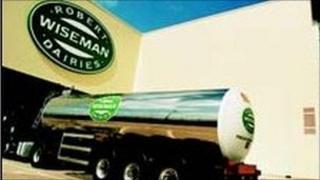 Wiseman milk tanker