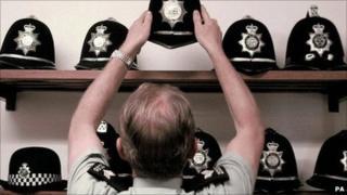 police helmets (generic)
