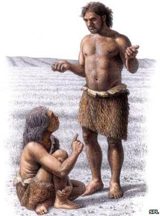 Neanderthals, art work