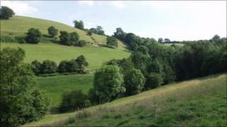 Rural Shropshire landscape