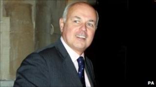 Work and Pensions Secretary Iain Duncan Smith