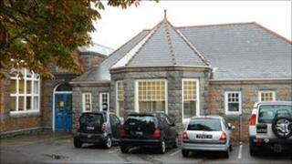 Former Boys' Grammar School in Brock Road, Guernsey