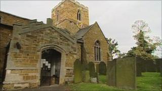 St Remigius Church in Long Clawson