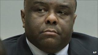 Jean-Pierre Bemba in the ICC appeals court. 19 Oct 2010