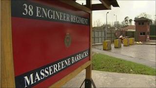 Massereene Barracks