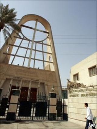 Our Lady of Salvation church in central Baghdad (file photo)