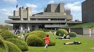 National Theatre roof garden. Copyright: Haworth Tompkins.