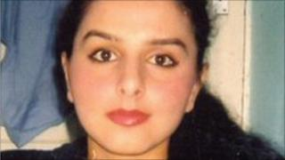 Banaz Mahmod, who was killed on the orders of her father in 2006