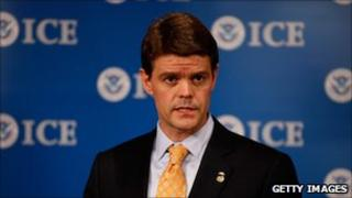 Director of US Immigration and Customs Enforcement John Morton (pictured in October)