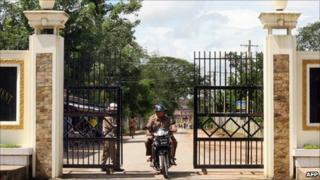 File image of the fates at Rangoon's Insein prison