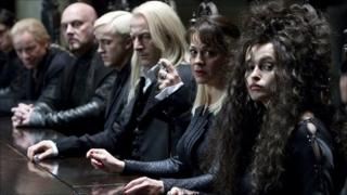 Helena Bonham Carter (right) in Harry Potter and the Deathly Hallows Part 1