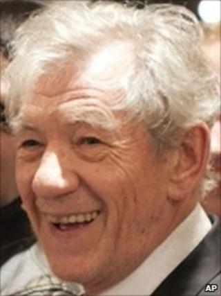 Sir Ian McKellen - library picture
