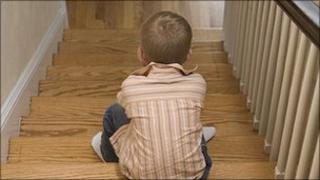 Boy on stairs (file pic) [Image: Jupiter]