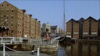 Gloucester Docks