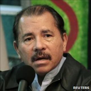 Daniel Ortega, November 2010