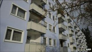 The block of flats in which Nazi war criminal Klaas-Carel Faber lives