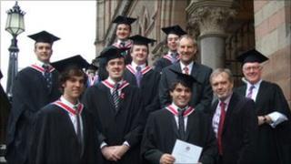 IOM College graduates