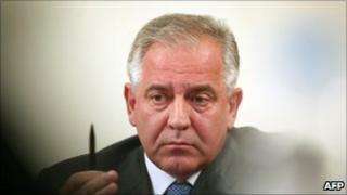 Ivo Sanader (file photo October 2010)