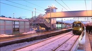 Bathgate train station