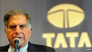 File photo of Tata Group chairman Ratan Tata in Mumbai
