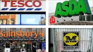 Big four supermarket chains
