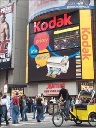 Kodak billboard