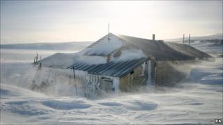 Capt Robert Scott's Antarctic hut. Pic: UK Antarctic Heritage Trust/PA Wire