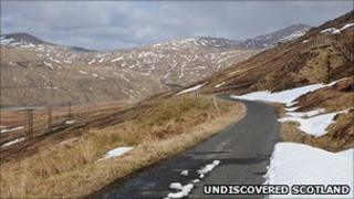 Looking into Glen Lyon (Pic: Undiscovered Scotland)