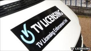 TV Licensing van