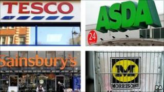 Big four supermarkets