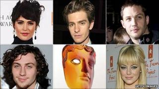 Bafta Rising Star award nominees