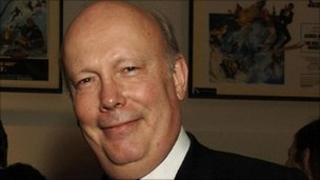 Writer and actor Julian Fellowes