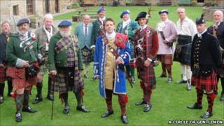 Members of A Circle of Gentlemen. Pic: A Circle of Gentlemen