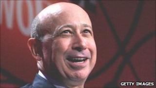Goldman Sachs chief executive Lloyd Blankfein