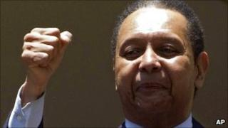 Former Haitian leader Jean-Claude 'Baby Doc' Duvalier, 19/01